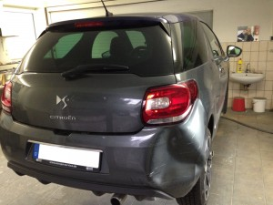 Citroen DS3 Lackschaden