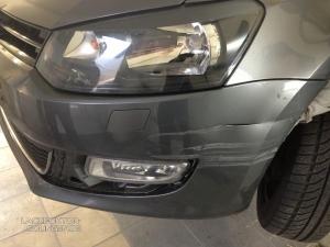 Parkrempler am VW Polo / Frontstoßstange