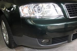 Audi Stoßstange vorne Spot Repair Ergebnis