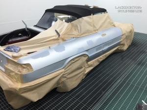 Instandsetzung einer Seitenwand beim Alfa Romeo Spider